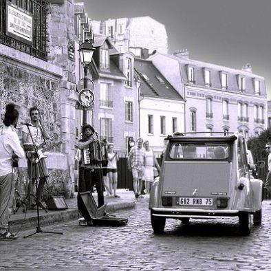Rallye vintage en 2CV - team building insolite